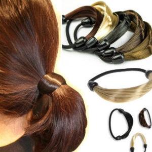 vlasové gumičky z vlasů
